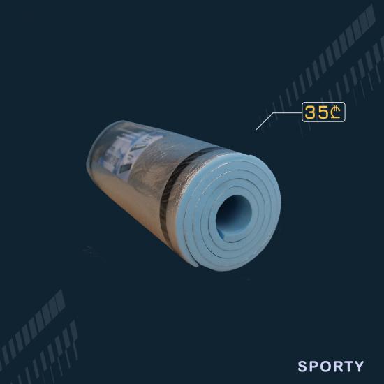 ცისფერი პარალონი 1სმ სისქე 50სმ სიგანე