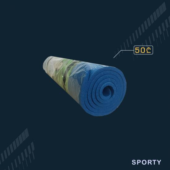 ლურჯი იოგა მატი 1სმ სისქე 60სმ სიგანე