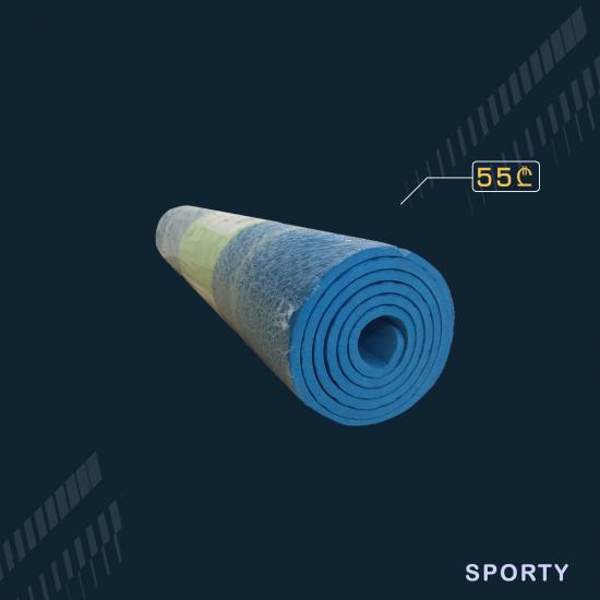 ლურჯი იოგა მატი 7 მმ სისქე 60 სმ სიგანე
