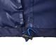 ლურჯი საწვიმარი ქურთუკი